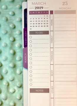 planner customization